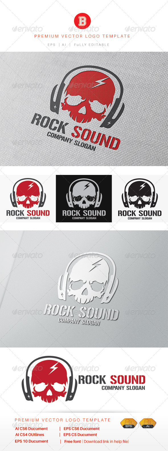 GraphicRiver Rock Sound 8226607