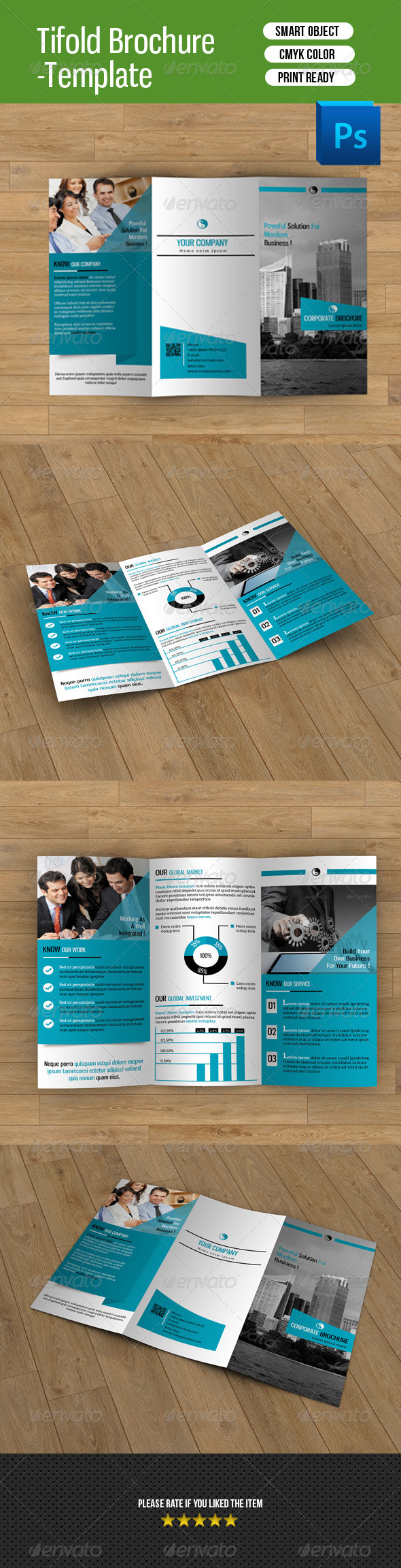 Trifold Business Brochure-V32