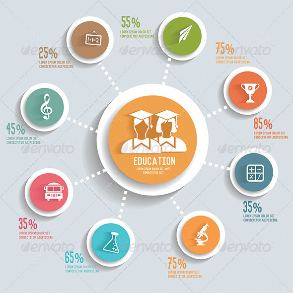 GraphicRiver Education Infographics 8227406
