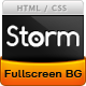 Storm - Full Screen Background Template - ThemeForest Item for Sale