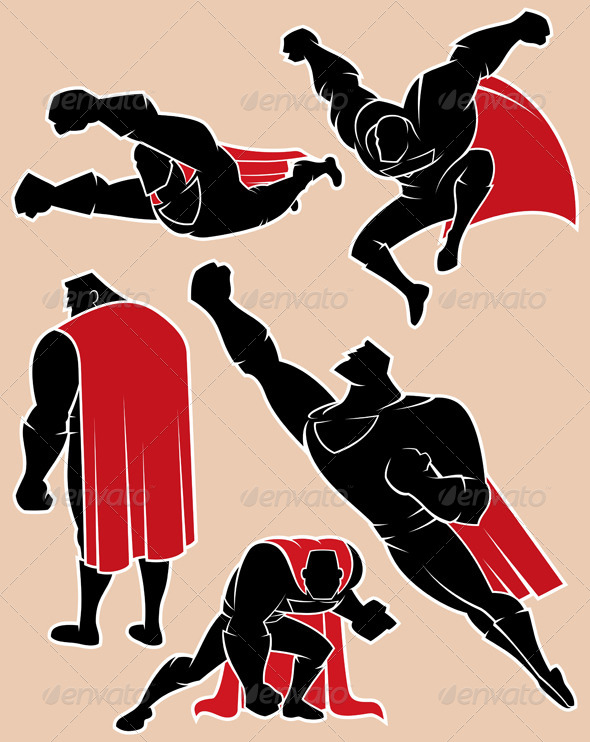 GraphicRiver Superhero in Action 2 8228313
