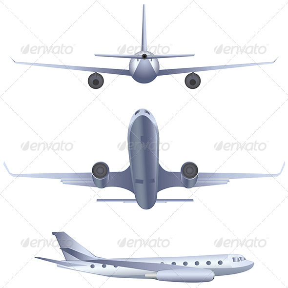 GraphicRiver Airplane 8228319