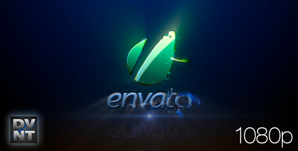 VideoHive After Effects Project - Blue Plasma Logo Stinger 841574