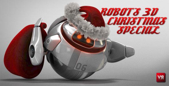 After Effects Project - VideoHive Robots 3D christmas special 841585
