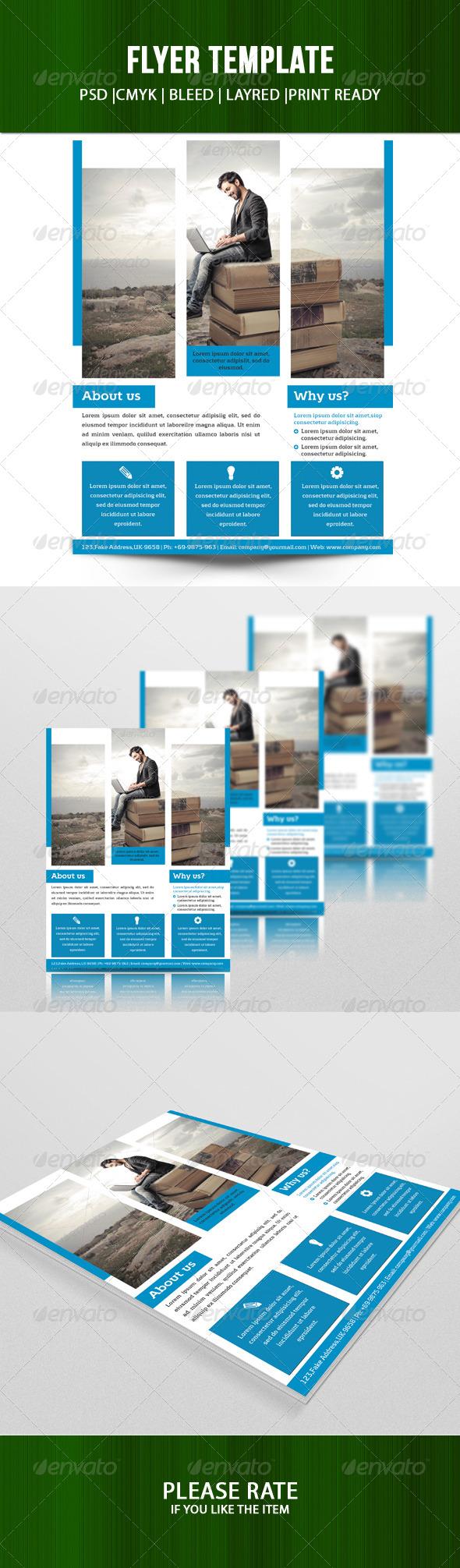 GraphicRiver Corporate Flyer-V78 8228798