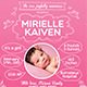 Baby Announcement Card ( Boy & Girl ) - GraphicRiver Item for Sale