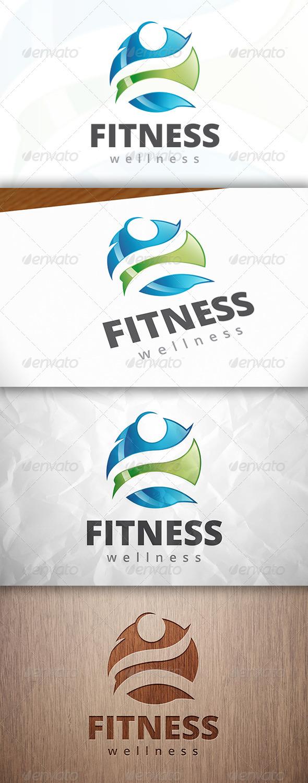 GraphicRiver Fitness Ball Logo 8229315