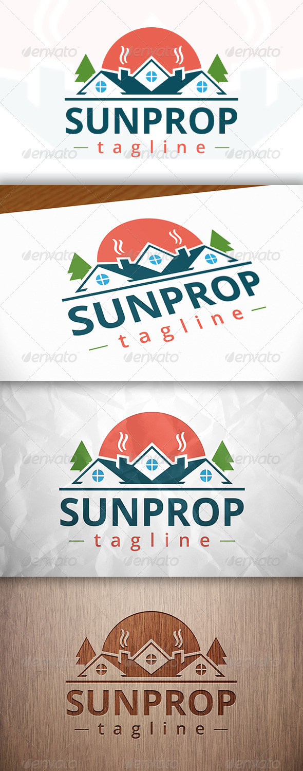 GraphicRiver Sweet Home Logo 8229440