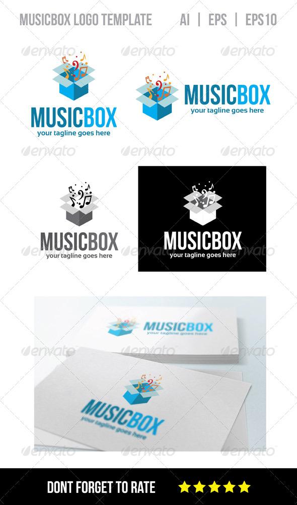 GraphicRiver Music Box Logo Template 8229653