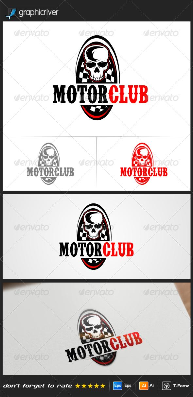 GraphicRiver Motor Club Logo Templates 8229781