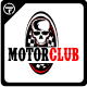 Motor Club Logo Templates - GraphicRiver Item for Sale