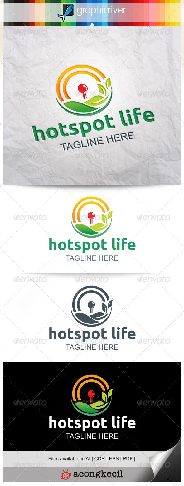 GraphicRiver HotSpot Life 8229805