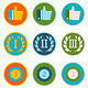 Vector Set of 36 Flat Gamification Icons - GraphicRiver Item for Sale