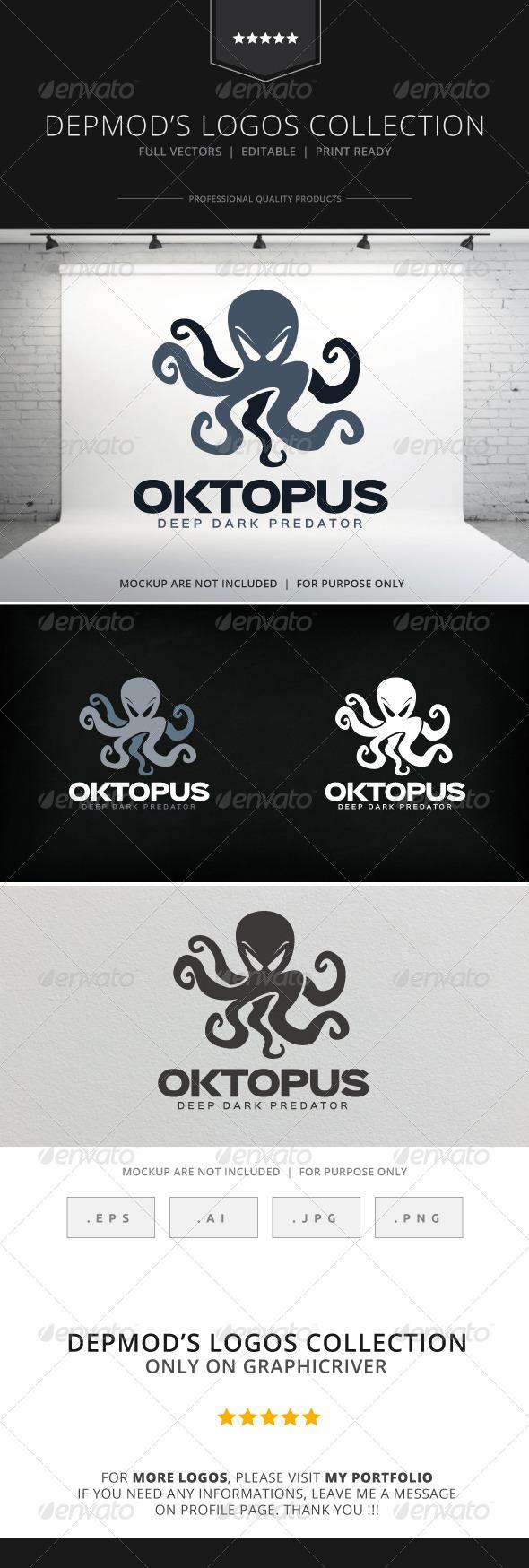 GraphicRiver Oktopus Logo 8230336