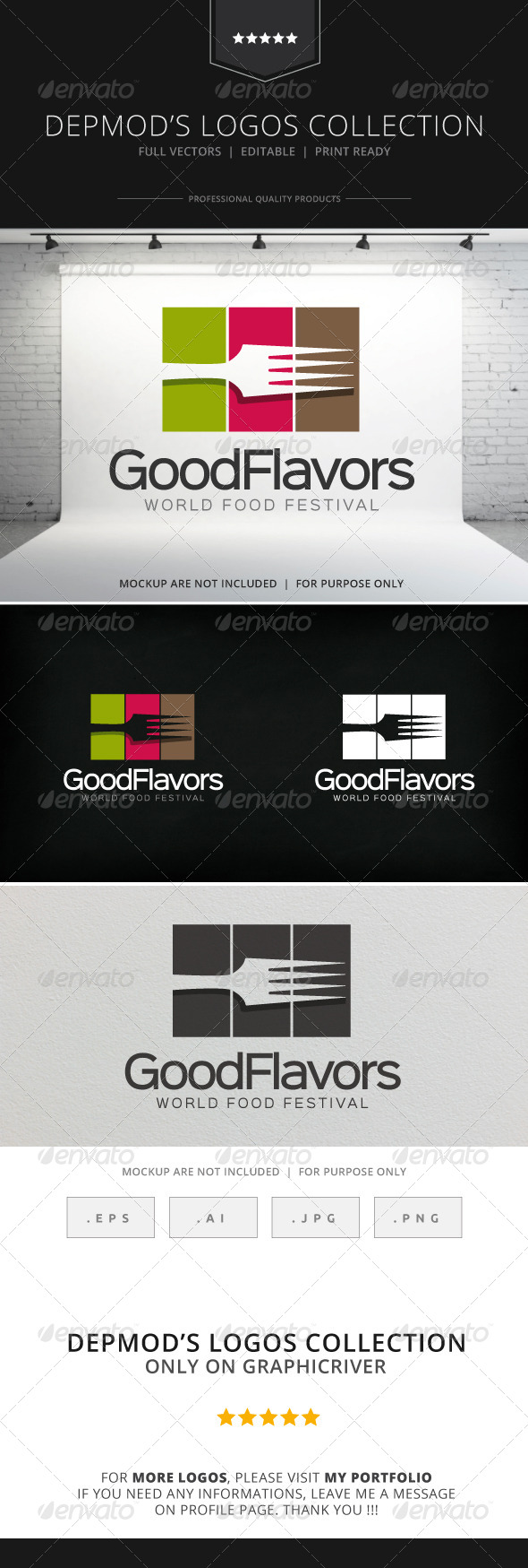 GraphicRiver Good Flavors Logo 8230388