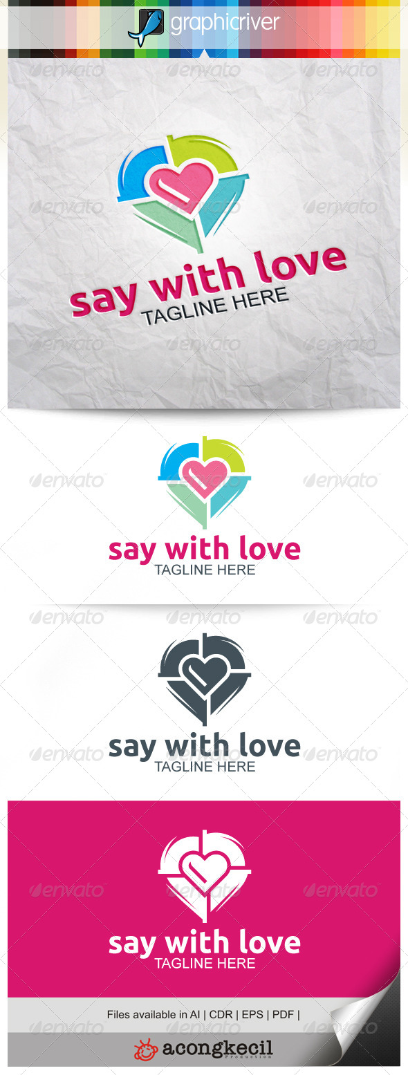 GraphicRiver Say With Love V.2 8230413