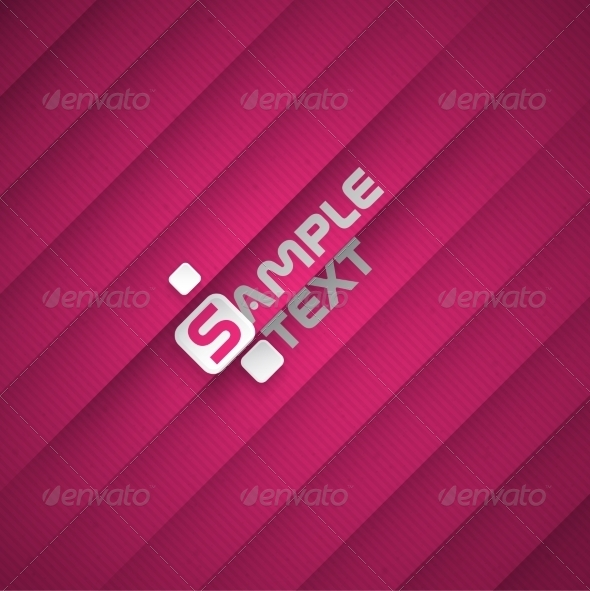 GraphicRiver Abstract Background With Purple Paper Layers 8230447