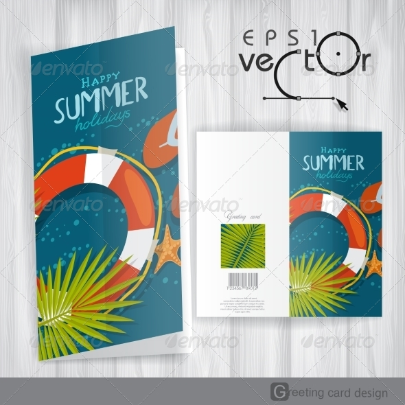 GraphicRiver Greeting Card Design Template 8230495