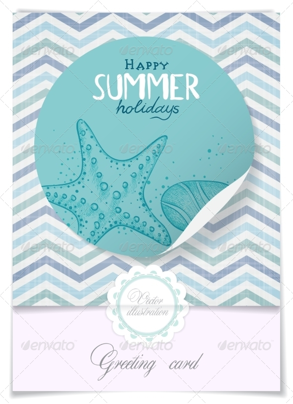 GraphicRiver Greeting Card Design Template 8230579