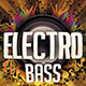 Electro Bass Party Flyer - GraphicRiver Item for Sale