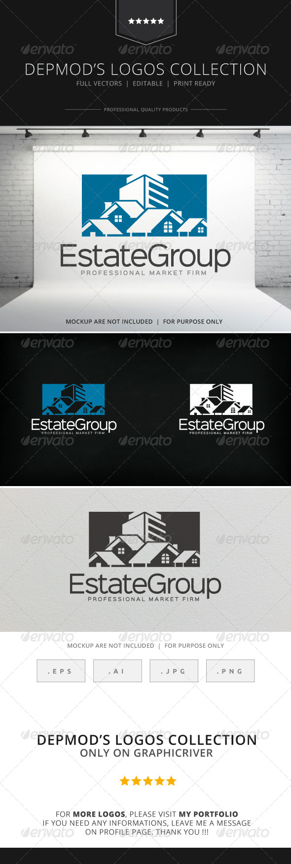 GraphicRiver Estate Group V.02 Logo 8230951