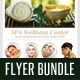 3 in 1 Spa Wellness Flyers Bundle 08 - GraphicRiver Item for Sale
