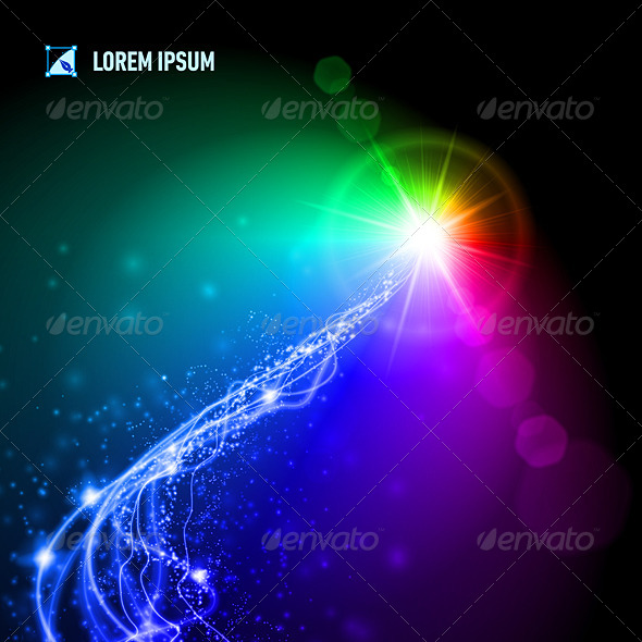 GraphicRiver High Energy Light Emanates from a Distant Star 8231013