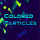 Colored Particles - GraphicRiver Item for Sale