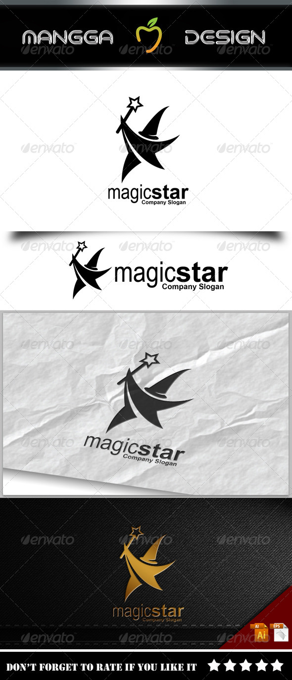 GraphicRiver Magic Star Logo 8231163