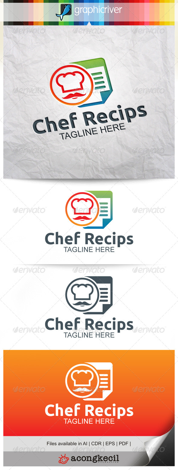 GraphicRiver Chef Recips V.2 8231176