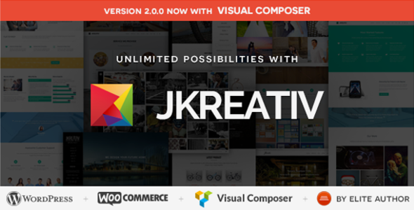 Jkreativ - Multilayer Parallax MultiPurpose Theme - Photography Creative