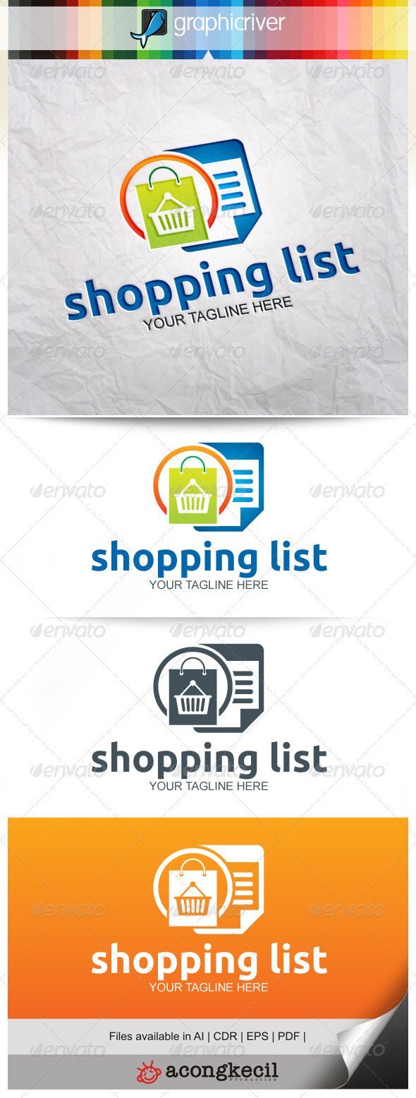 GraphicRiver Shopping List 8231371