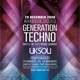 Generation Techno Flyer Template - GraphicRiver Item for Sale