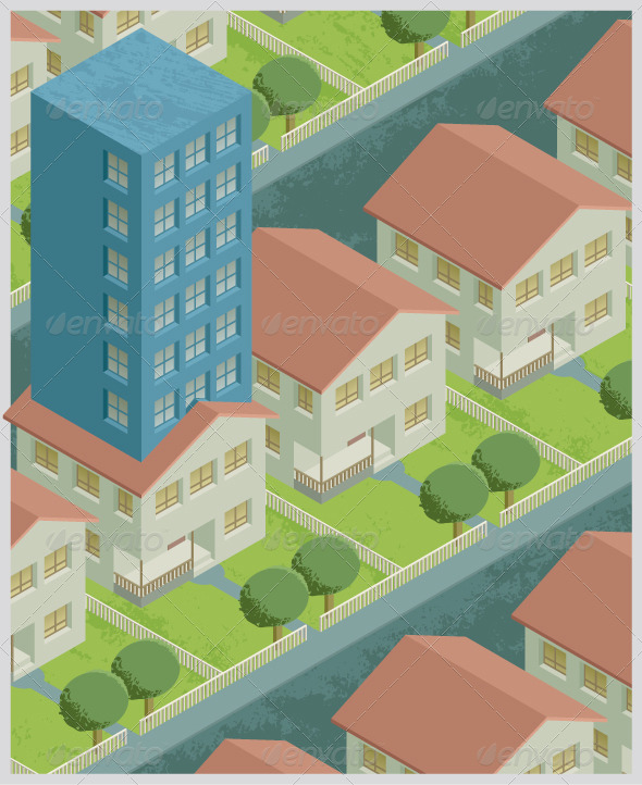 GraphicRiver Single Family Block of Flats 8231466