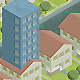 Single Family Block of Flats - GraphicRiver Item for Sale