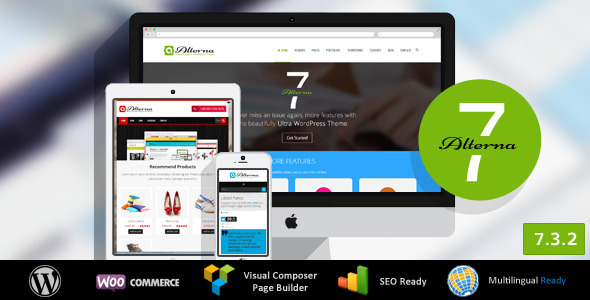 Alterna 7 - Ultra Multi-Purpose WordPress Theme - Corporate WordPress