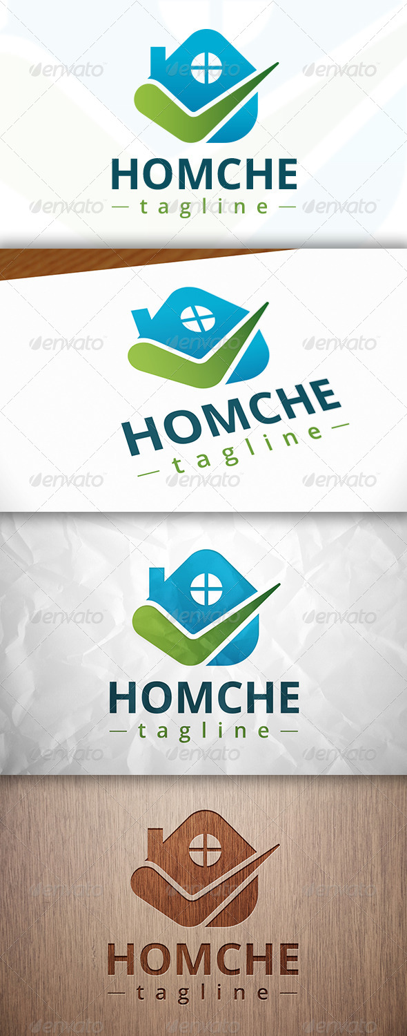 GraphicRiver Check House Logo 8231570