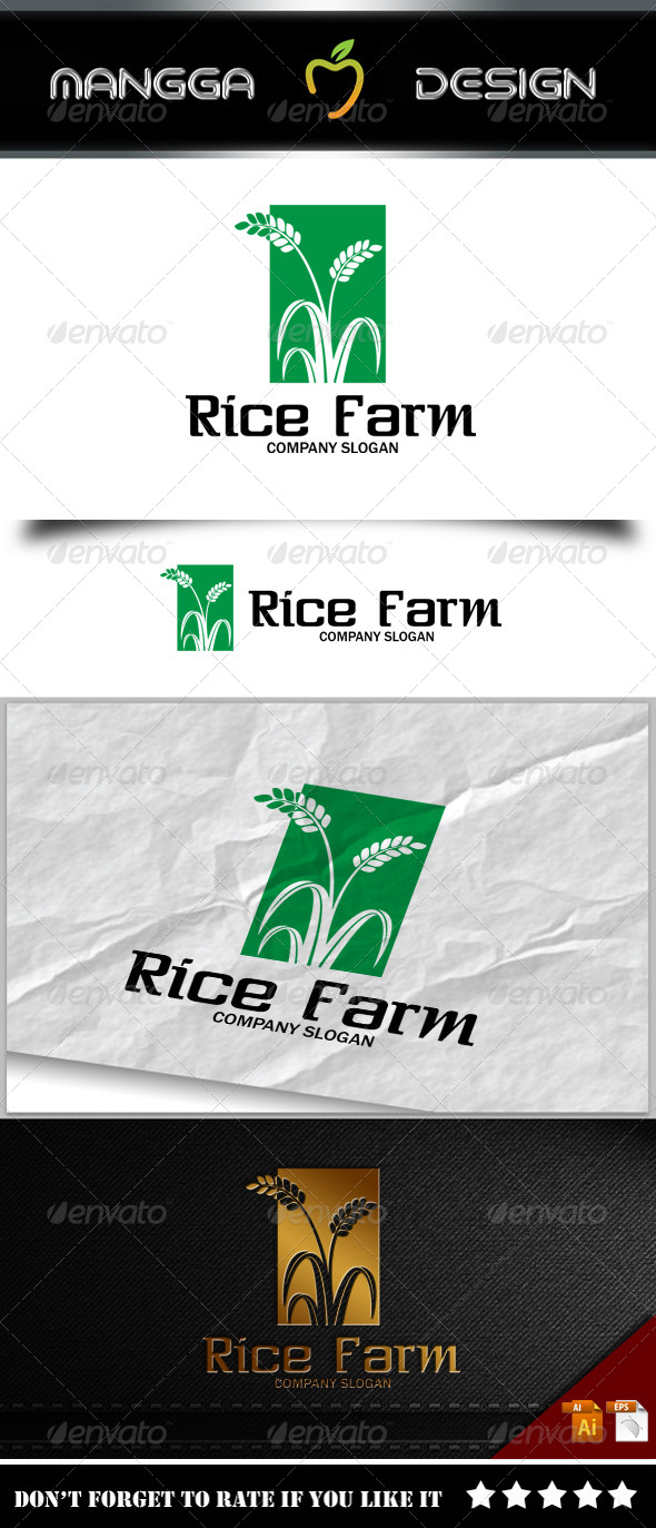 GraphicRiver Rice Logo 8231691