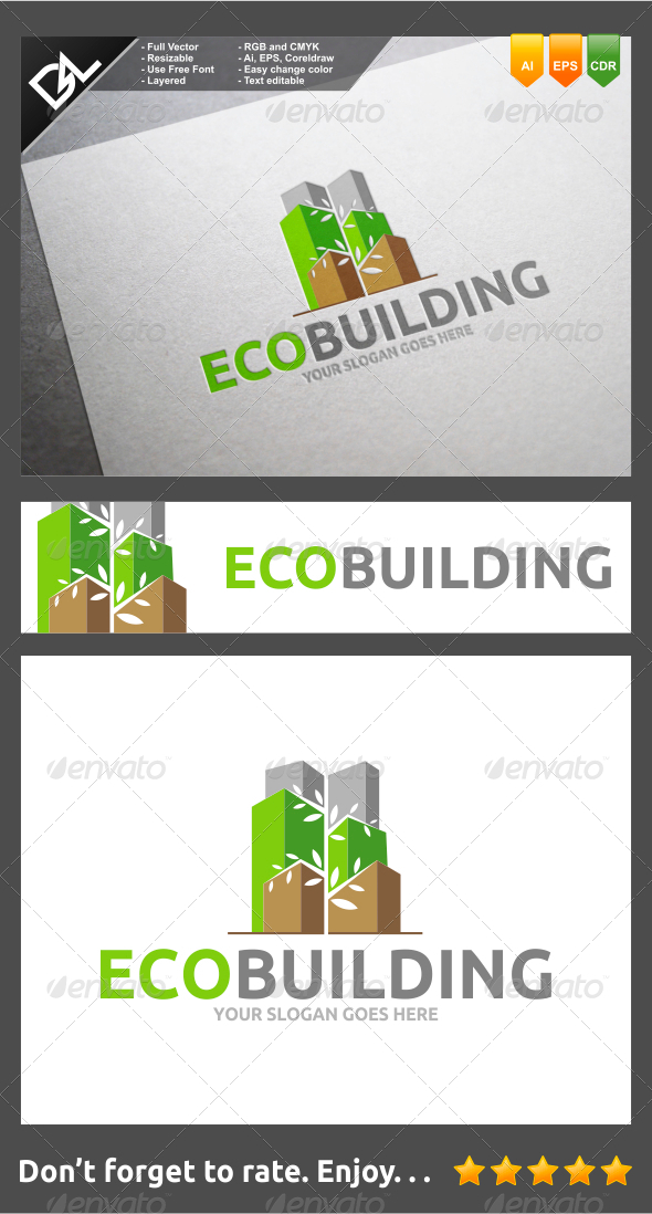 GraphicRiver Eco Building 8231962
