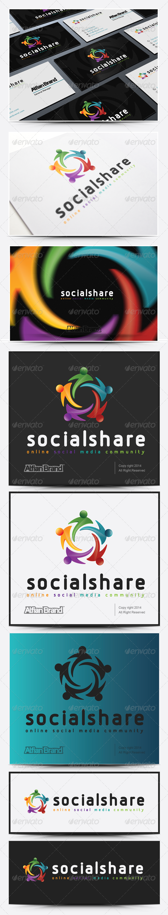GraphicRiver Social Share Logo 8193753