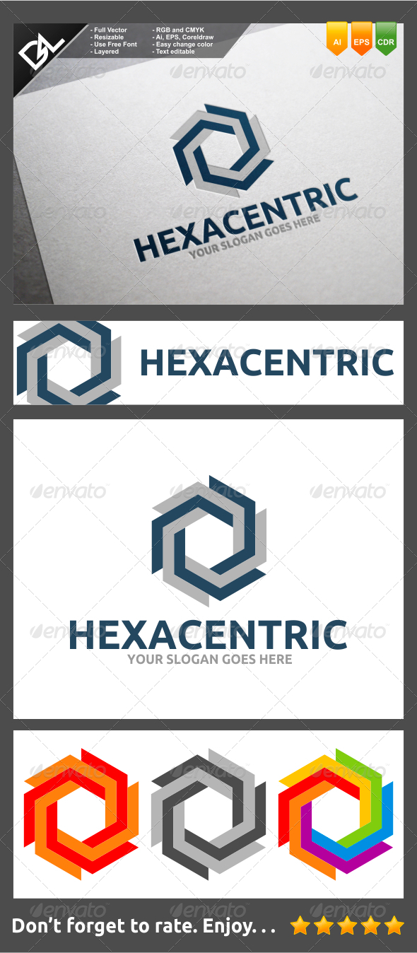 GraphicRiver Hexacentric 8231995