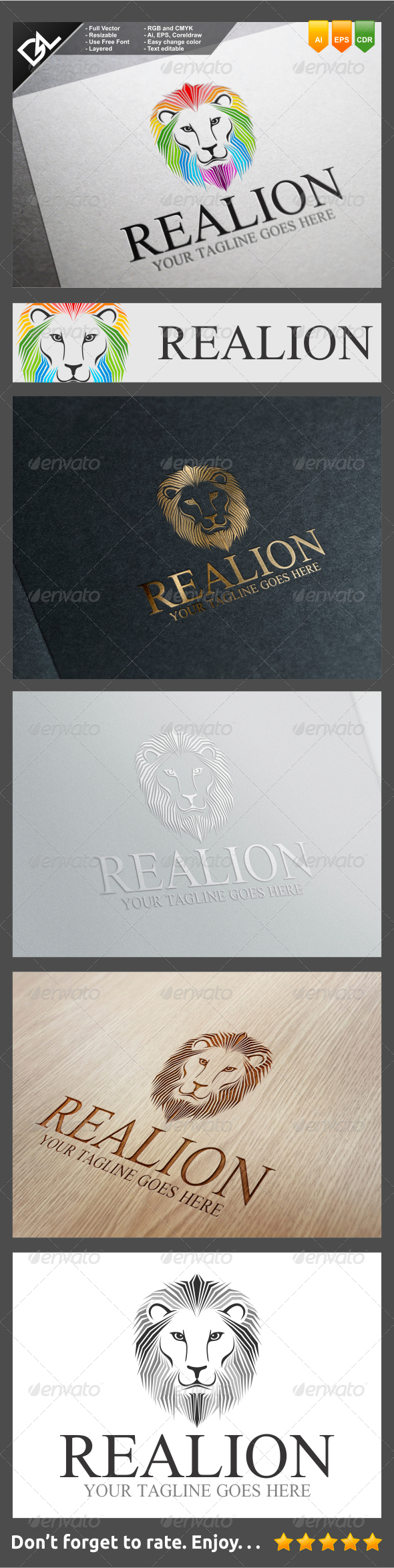 GraphicRiver Realion 8232078