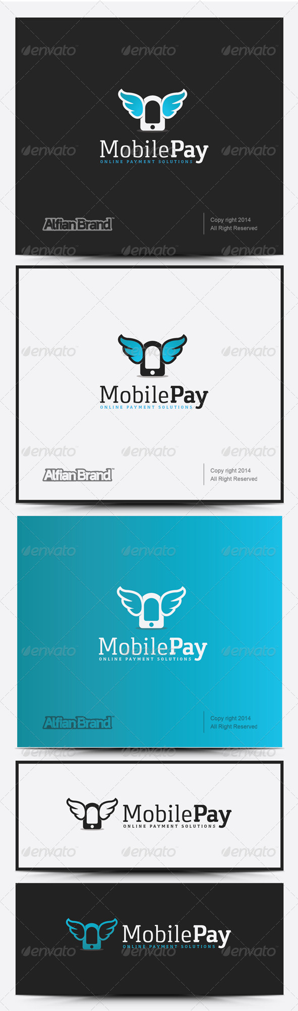 GraphicRiver Mobile Pay Logo 8232118