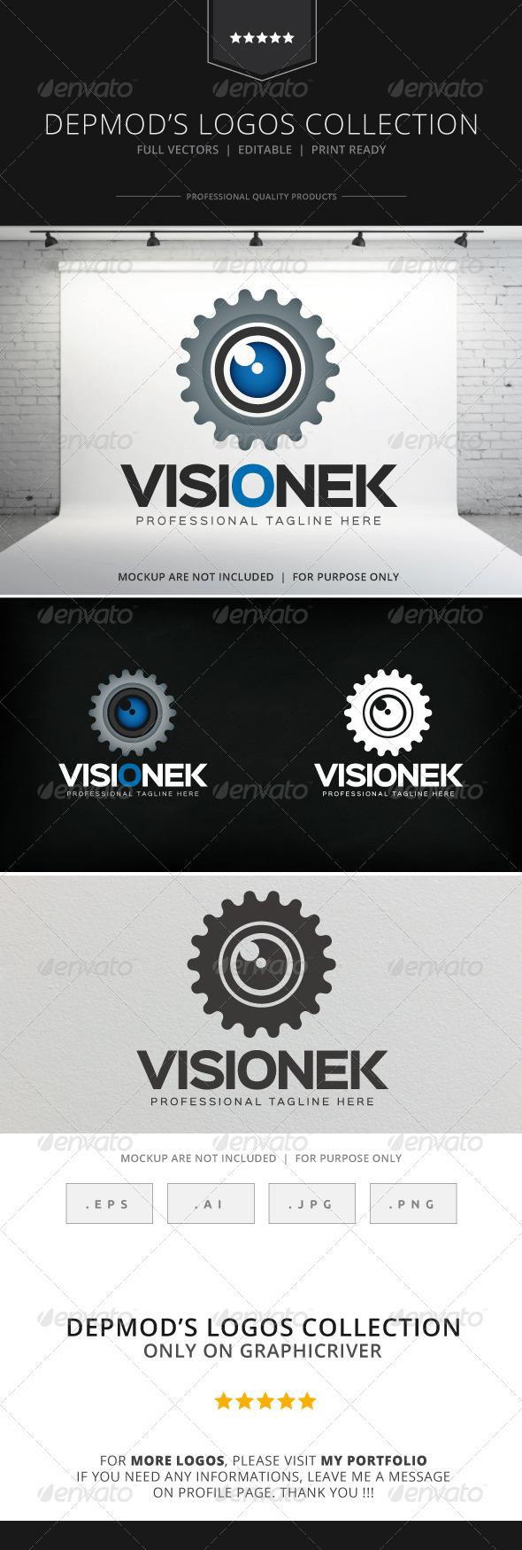 GraphicRiver Visionek Logo 8232218