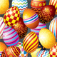 Decorative Easter Eggs - GraphicRiver Item for Sale