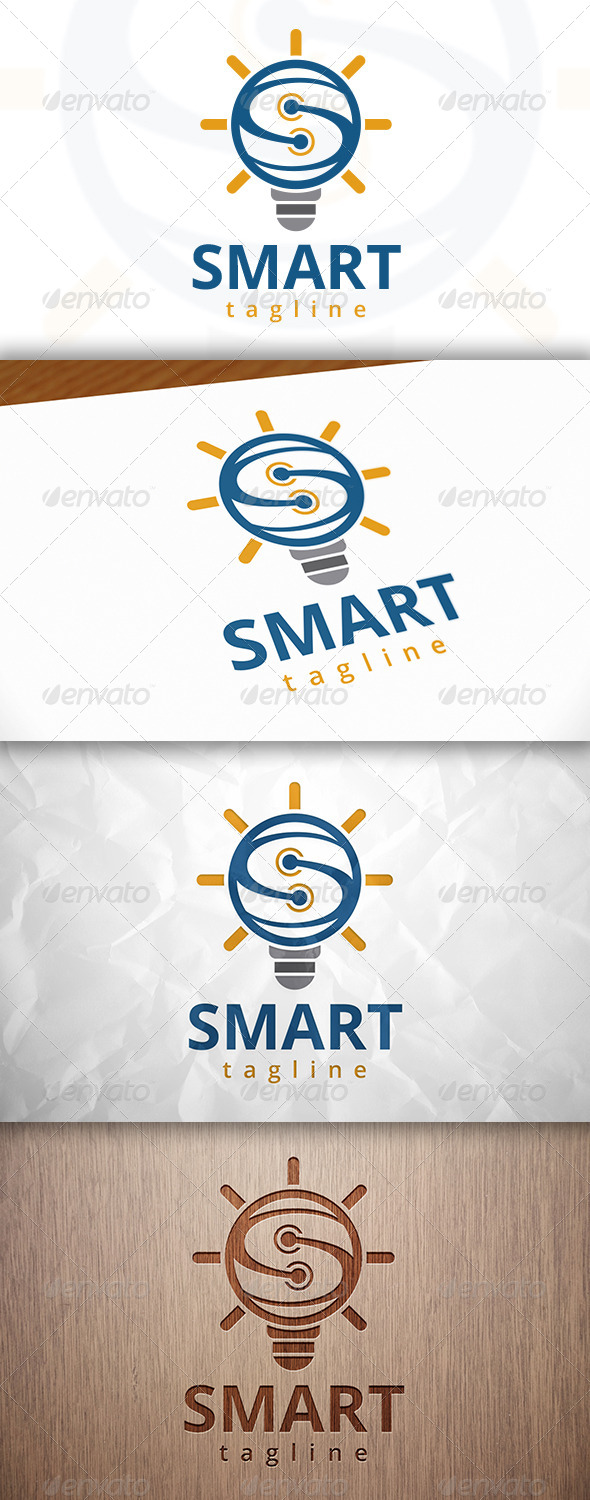 GraphicRiver Smart Idea Logo 8232275