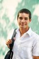 College student-Portrait of young man smiling - PhotoDune Item for Sale