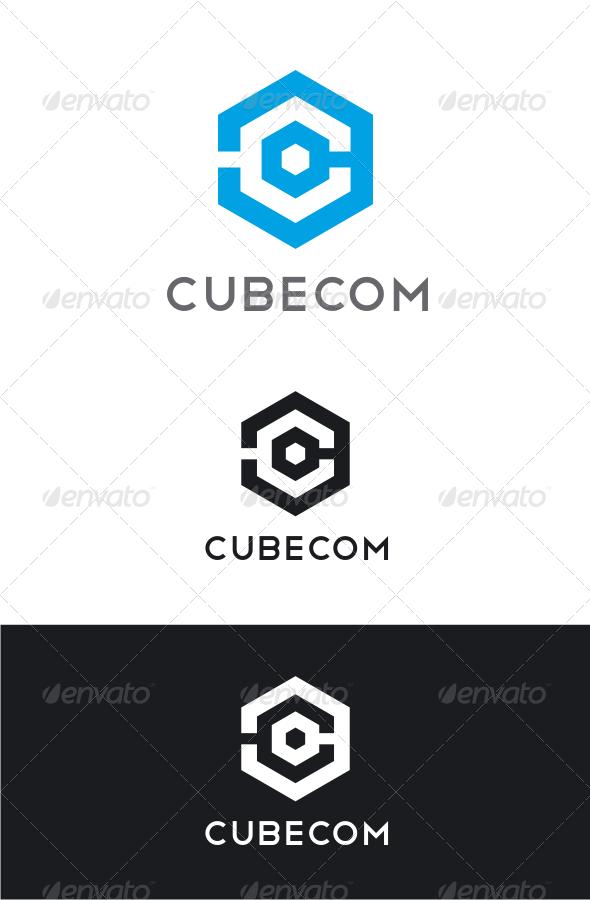 GraphicRiver Cubecom Letter C Logo 8232366