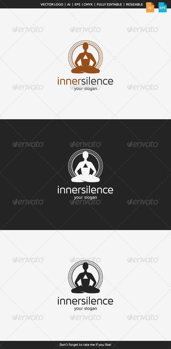 GraphicRiver Inner Silence Logo 8232573