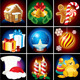 Christmas Detailed Icons - GraphicRiver Item for Sale